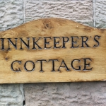 Innkeepers Cottage Nameplate